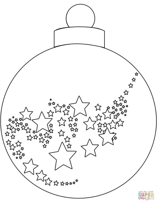 bolas-de-natal-para-colorir-estrelas