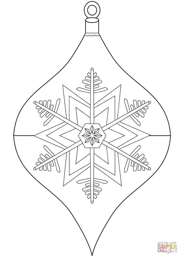 bolas-de-natal-para-colorir-floco-neve