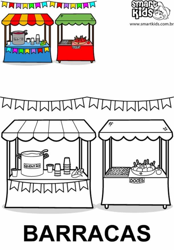 desenhos-juninos-barracas