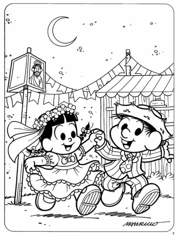 desenhos-juninos-noivos