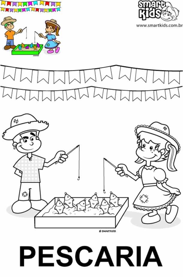 desenhos-juninos-pescaria