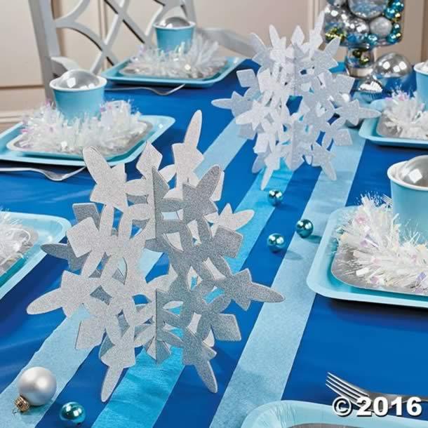 festa-frozen-centro-mesa-flocos-eva