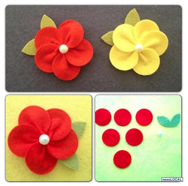 flores-de-feltro-circulos