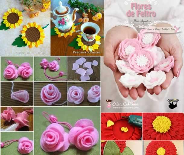 flores-de-feltro-ideias