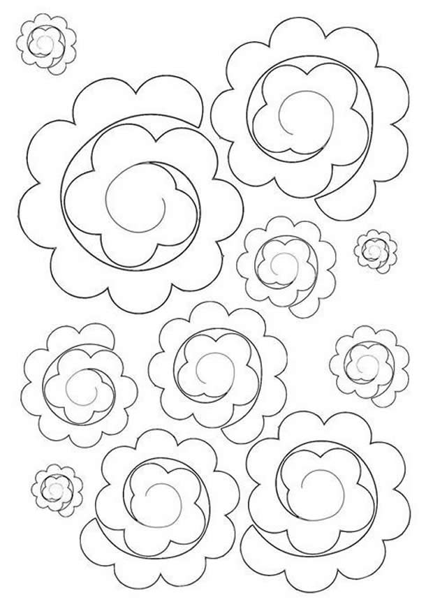 flores-de-feltro-molde