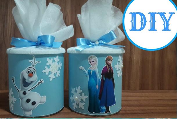 lembrancinhas-frozen-latinhas-decoradas