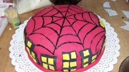 Primera torta que pinto a mano
