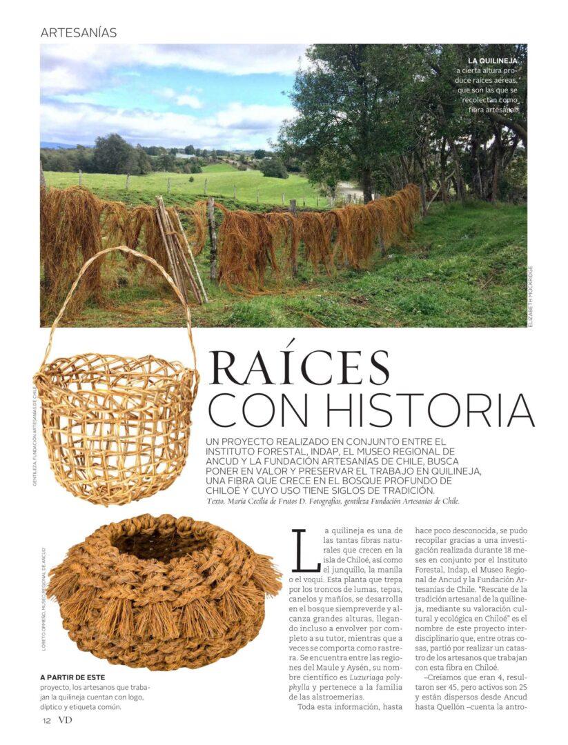 RAÍCES CON HISTORIA – Revista Vivienda y Decoración