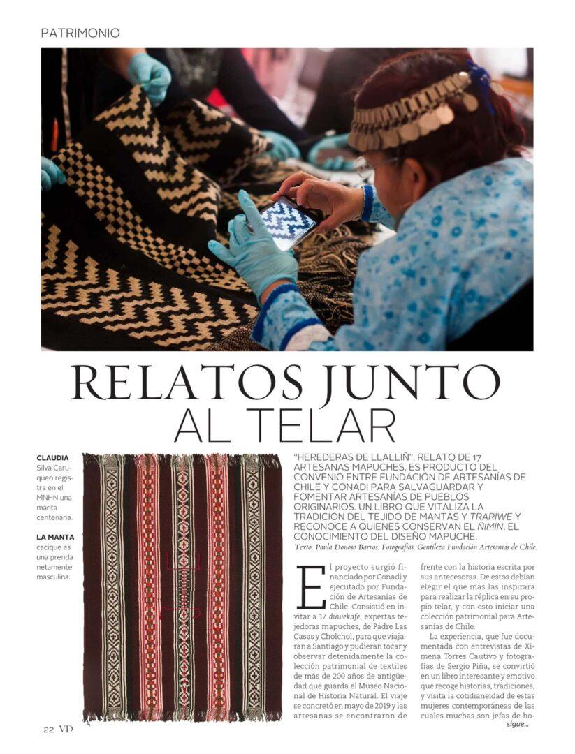 Relatos junto al telar – Revista Vivienda y Decoración