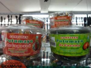 CONFITES PUTUMAYO COCONA Y COPOAZU