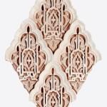 Pieza de escayola para murales y arcos
