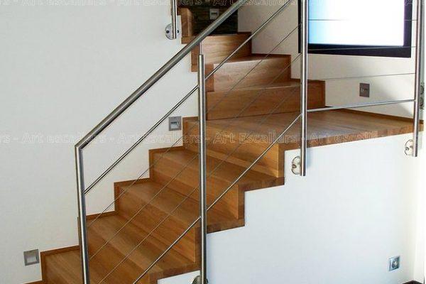 Habillage De Marches Sur Escalier Beton Art Escaliers