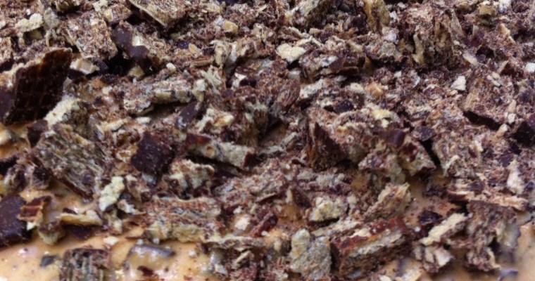Torta Fácil de Waffer Coberto com Chocolate!!!!