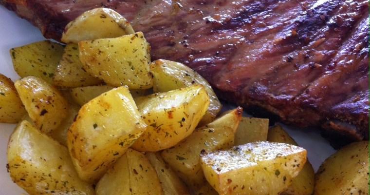 Costelinha de Porco com Batatas ao Curry!!!