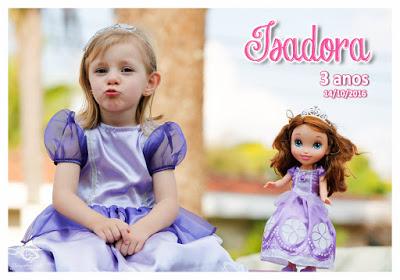 ISADORA – 3 aninhos!!!