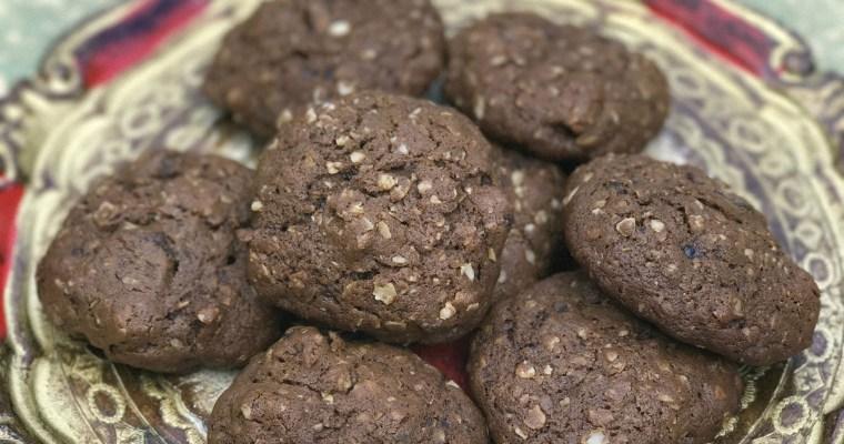 Cookies de Banana Passa com Aveia – super saborosos