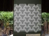 ... tiled hexagons tessellation...