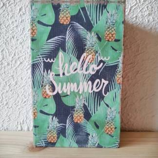 Caja decorativa forma de libro(Hello Summer)