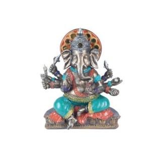 Ganesha Resina Diosa 18cm