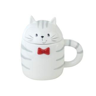 Taza forma de Gato Mug Cerámica
