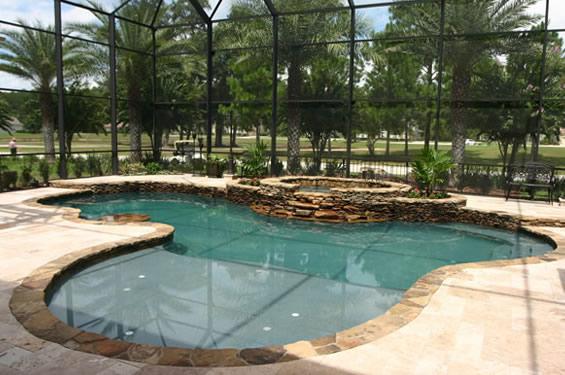 Orlando Daytona Beach Inground Swimming Pool Builders Pool Spa Design