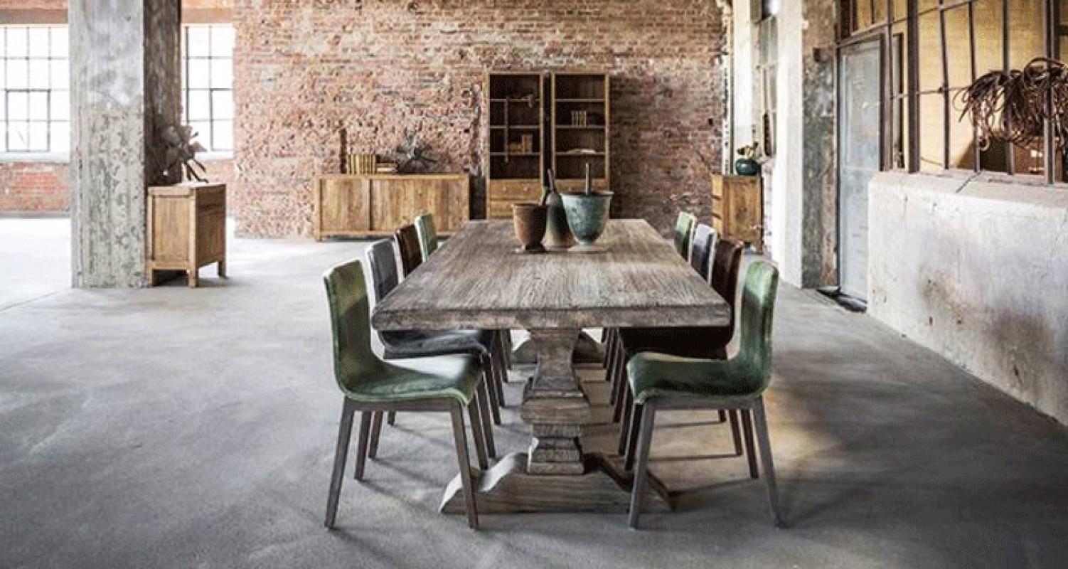 Chaise Moderne Table Ancienne | 52 Idées Déco De Table