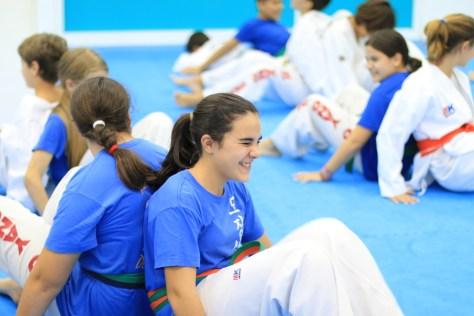 Aartes marciales y defensa personal para niños