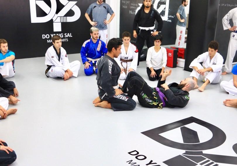 Brazilian Jiu Jitsu Martial Arts Barcelona