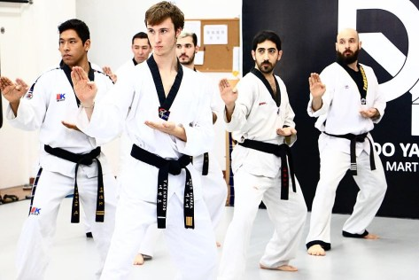 Clases Adultos Taekwondo en Barcelona