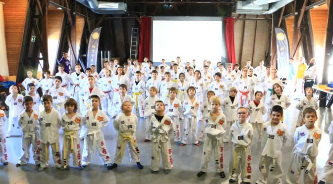 Clase de artes marciales para niños en Barcelona