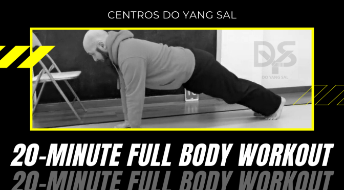 20 – MINUTE FULL BODY WORKOUT  #YOMEQUEDOENCASA