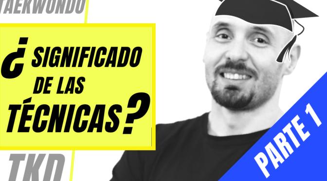 APRENDE EL SIGNIFICADO DE LAS TÉCNICAS EN COREANO DESDE TU SOFÁ