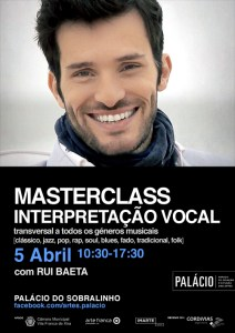 Masterclass Rui Baeta