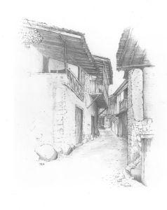Street in Kakopetria