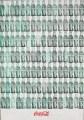 Green Coca-Cola Bottles   Andy WARHOL  1962  209,2cm x 144,8cm, sérigraphie sur toile Whitney Museum of American Art, New York (Etats-Unis d'Amérique)