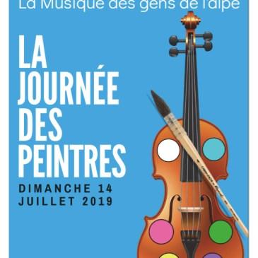 Journée des peintres 2019 : La musique des gens de l'Alpe