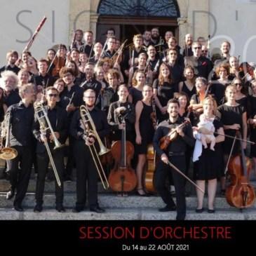 Session d'orchestre d'été 2021