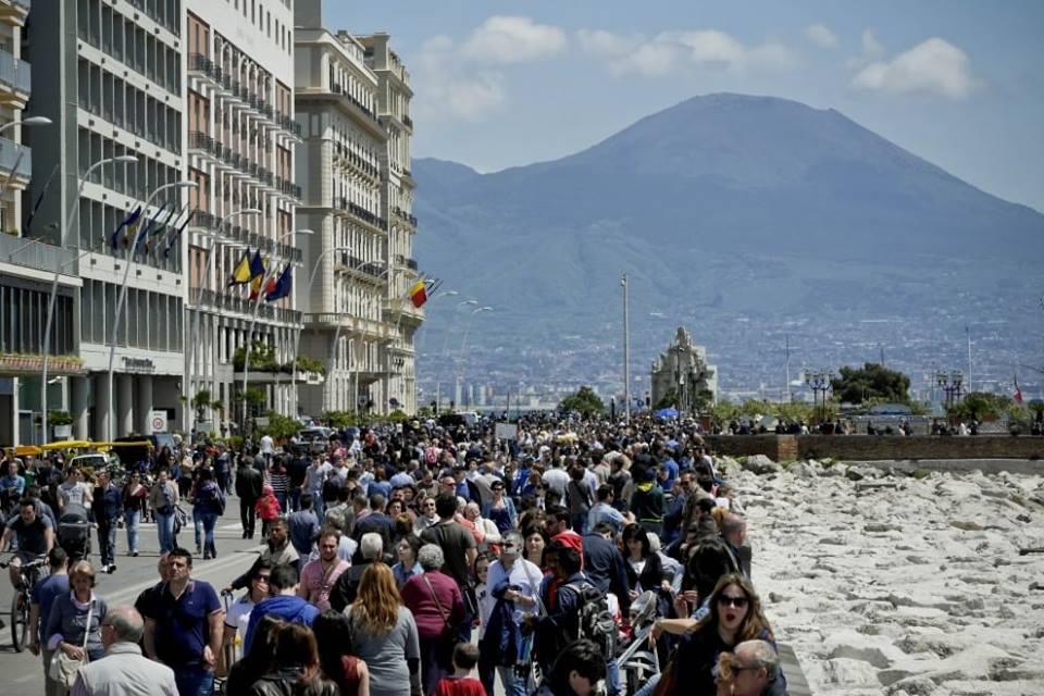 Napoli: il boom di turisti è realtà