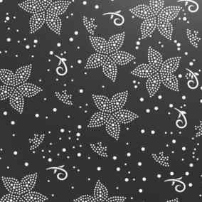 Illustration tôle perforée motifs Lilium