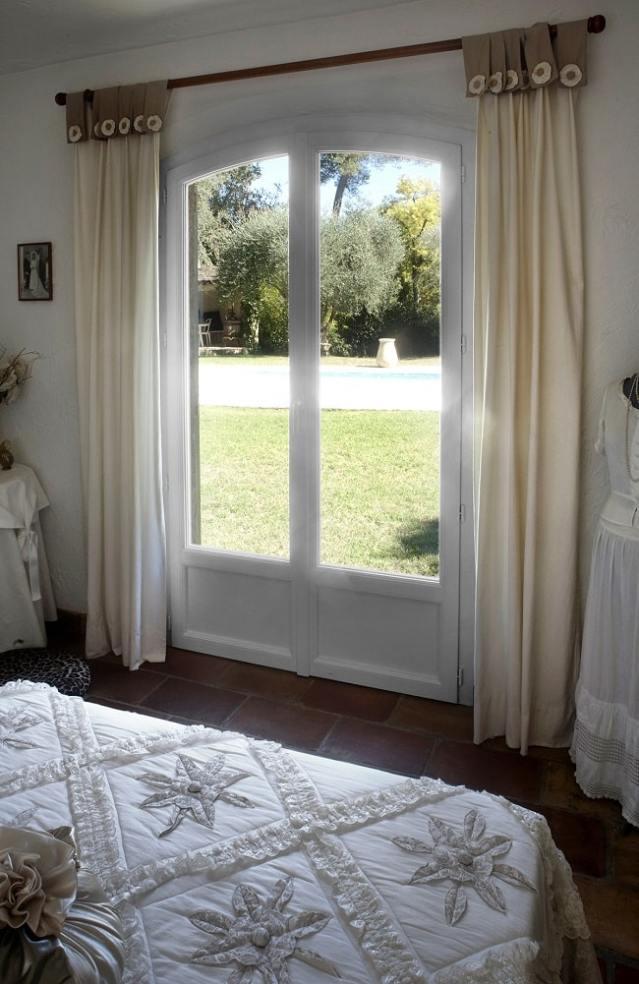 Photo d'une fenêtre en PVC