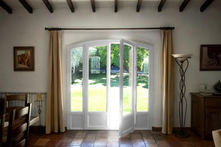 Fenêtres PVC.