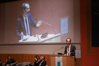 Ouverture du colloque par David Gruson, délégué général de la FHF © Estelle Lucas
