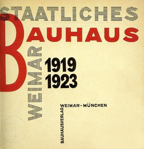 The Bauhaus School, 1919-1933