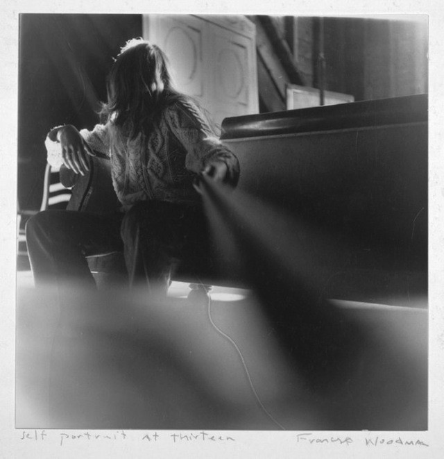 Francesca Woodman - Autoritratto a 13 anni, 1971