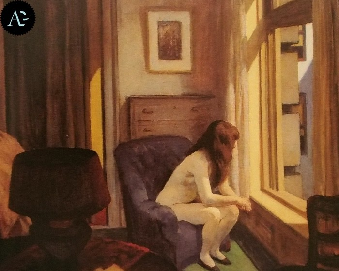 Le undici di mattina Edward Hopper 1926