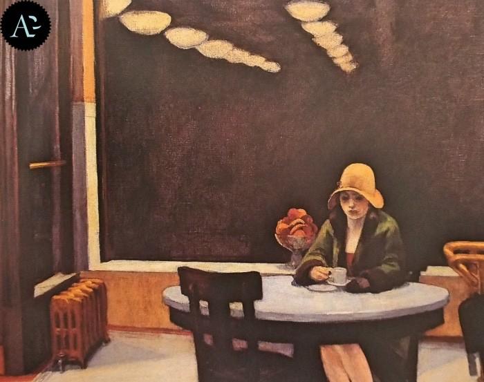 Tavola Calda Edward Hopper 1927