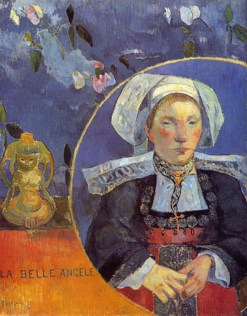 La bella Angèle Paul Gauguin 1889