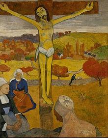 Il Cristo giallo Paul Gauguin 1889