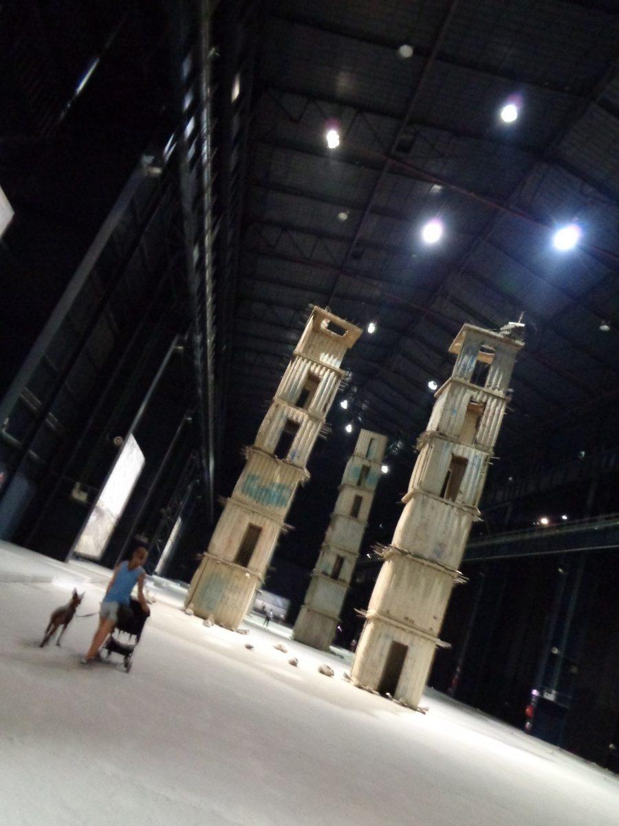Panoramica esposizione Mostra I Sette Palazzi Celesti 2004-2015 Anselm Kiefer