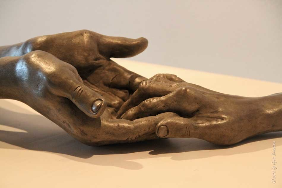 The Welcoming Hands Louise Bourgeois 1966